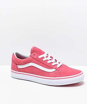 9e99a6c6c88d Vans Old Skool Desert Rose Skate Shoes