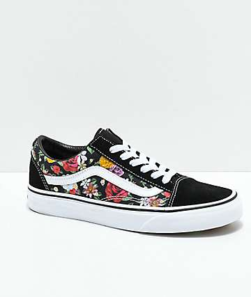 a9243ee19856bf Vans Old Skool Digi Floral Skate Shoes