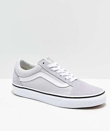 20a1b70f8d28e Vans Old Skool Gray, Dawn & White Shoes