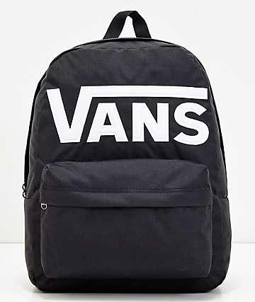 Vans Old Skool II Logo mochila negra y blanca