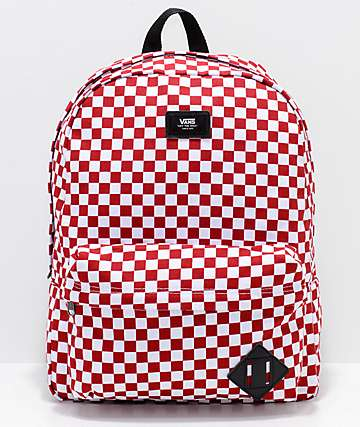 Vans Old Skool II Red & White 22L Backpack