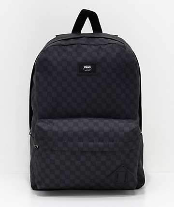 Vans Old Skool III Black & Charcoal Backpack