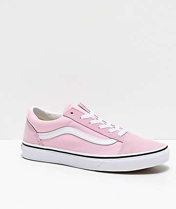 Vans Old Skool Lilac Snow & White Skate Shoes