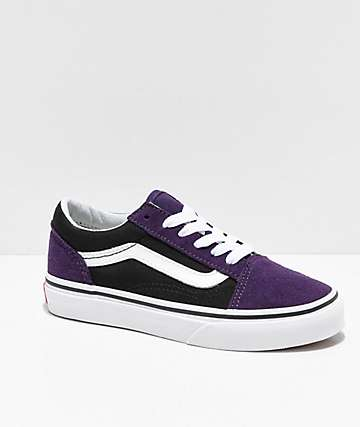 Vans Old Skool Mysterioso & Black Skate Shoes