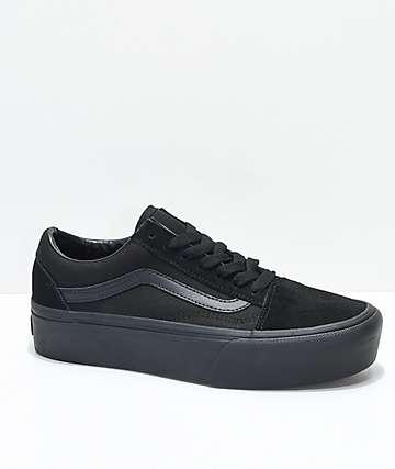 3841b2f38c Vans Old Skool Platform Shoes