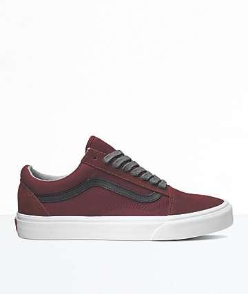 Vans Old Skool Port Royale & Black Skate Shoes