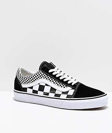 d5b2818c1 Vans Old Skool zapatos de skate de cuadros mixtos