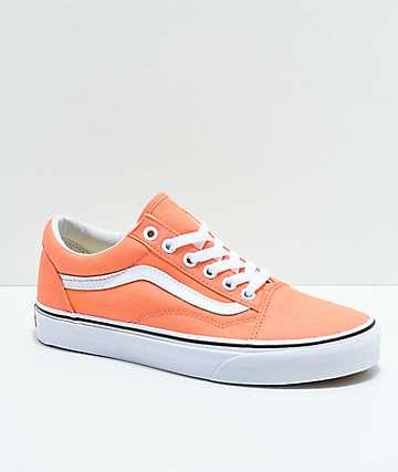 Vans Old Skool zapatos de skate en color melocotón