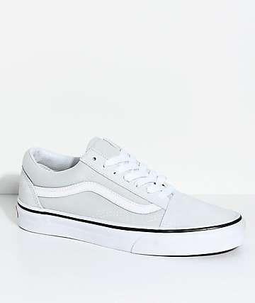 Vans Old Skool zapatos de skate en verde claro y blanco