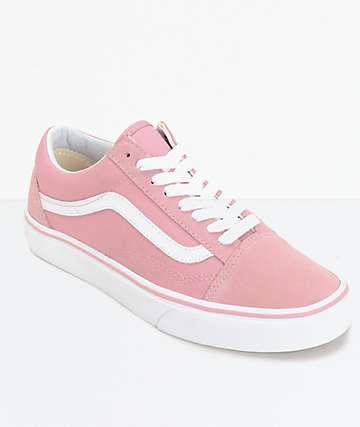 Vans Old Skool zapatos en blanco y céfiro (mujer)