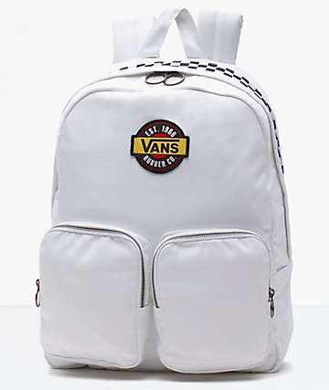 Vans Outsider White Backpack