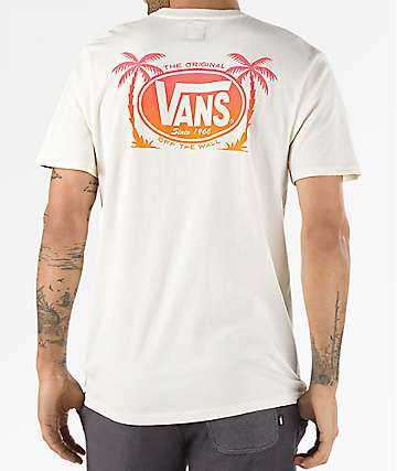 Vans Oval Palm Antique White T-Shirt