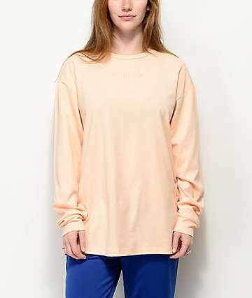 Vans Overtime Out Apricot Long Sleeve T-Shirt