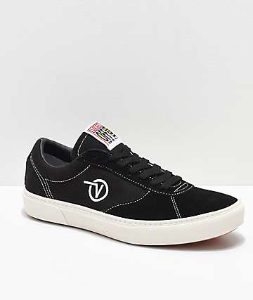 Vans Paradoxxx Black & White Shoes