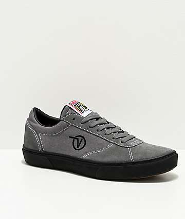 Vans Paradoxxx Quiet Shade & Black Shoes