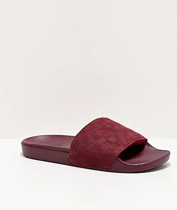 Vans Port Royal Suede Checker Slide Sandals