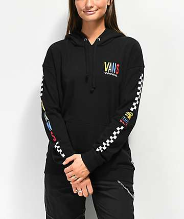 Vans Primary Checkered Black Hoodie