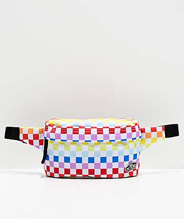 Vans Rainbow Checkerboard Fanny Pack