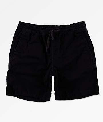 "Vans Range 18"" Black Shorts"
