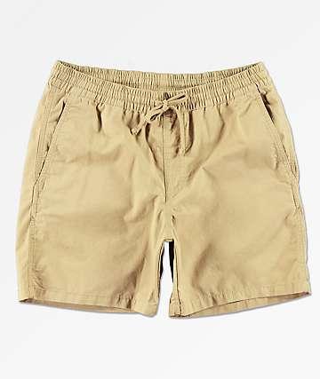 """Vans Range 18"""" Khaki Shorts"""