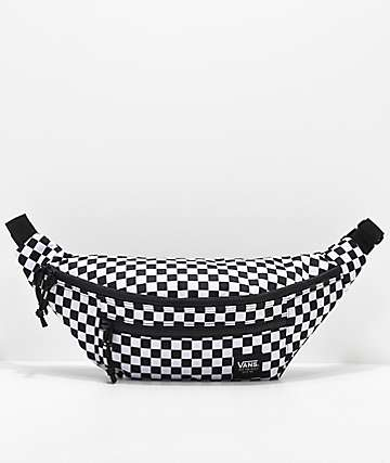 Vans Ranger Black & White Checkered Fanny Pack