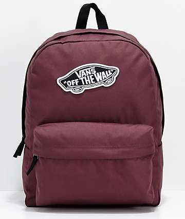 Vans Realm Catawba Grape mochila morada