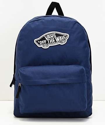 Vans Realm Medieval mochila azul