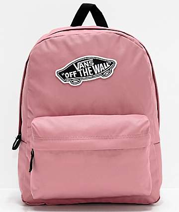 Vans Realm Nostalgia Rose Backpack