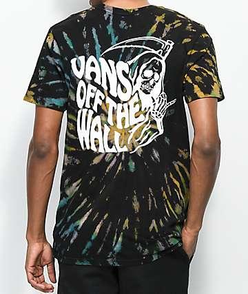 Vans Reaper Black Tie Dye T-Shirt