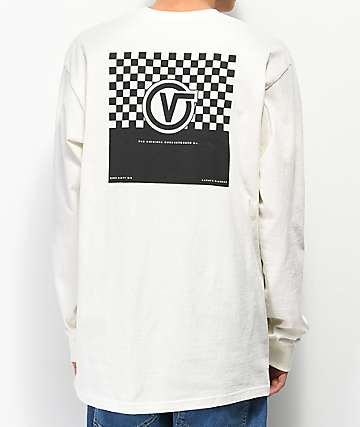 Vans Reblock Marshmallow Long Sleeve T-Shirt