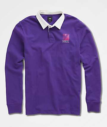 Vans Retro Sport Stargazer Long Sleeve Polo Shirt