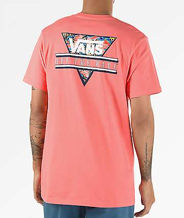 Vans Retro Tri Dubarry Pink T-Shirt