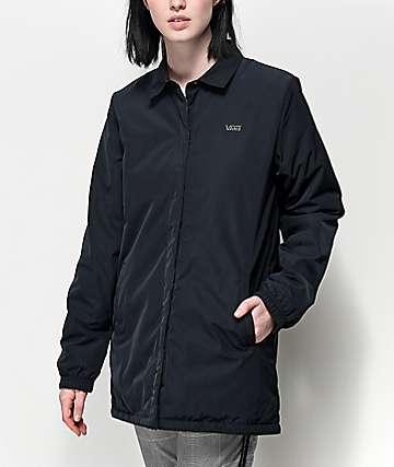 Vans Reversible MTE chaqueta entrenador reversible en negro y de camuflaje