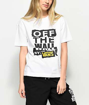 Vans Ripped OTW Boxy White T-Shirt
