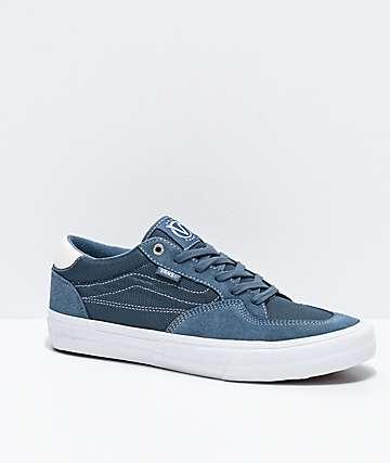 Vans Rowan Pro Mirage Blue & White Skate Shoes