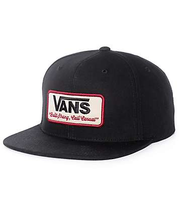 Vans Rowley Black Snapback Hat