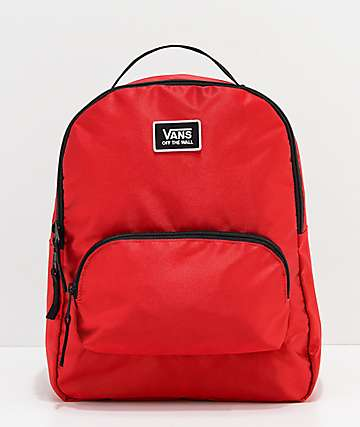 Vans Shine Bright Racing Red Mini Backpack