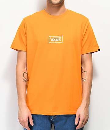 6ae37586 Vans Side Orange T-Shirt