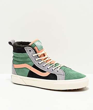 Vans Sk8-Hi 46 MTE DX Creme De Menthe & Obsidian Shoes