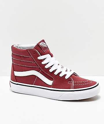 Vans Sk8-Hi Apple Butter & True White Skate Shoes