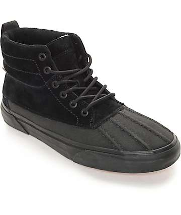 Vans Sk8-Hi Del Pato MTE Black Monochromatic Shoes