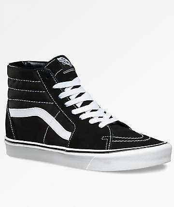 Vans Sk8-Hi Lite Black & White Shoes