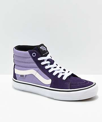 3d3a1da87f Vans Sk8-Hi Lizzie Armanto Pro Purple Skate Shoes