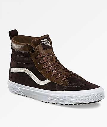 Vans Sk8-Hi MTE Dark Earth & Seal Brown Shoes