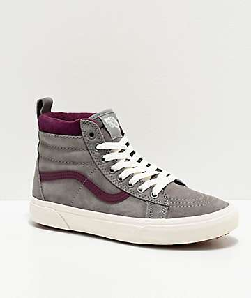 Vans Sk8-Hi MTE Frost Grey & Prune Shoes