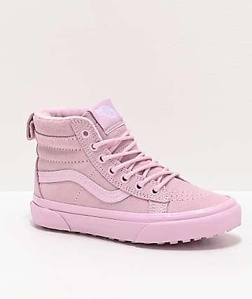 Vans Sk8-Hi MTE Lilac Snow Shoes