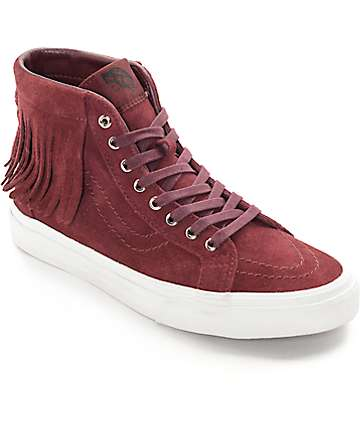 Vans Sk8-Hi Port Royale Moc Shoes (Women's)