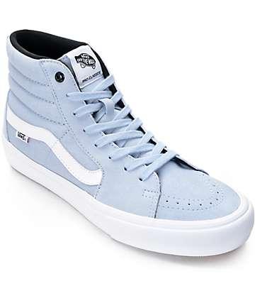 Vans Sk8-Hi Pro zapatos de skate en azul