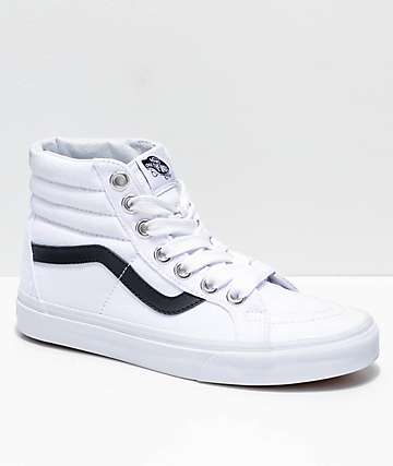 Vans Sk8-Hi Reissue Oversized Lace Black & White Shoes