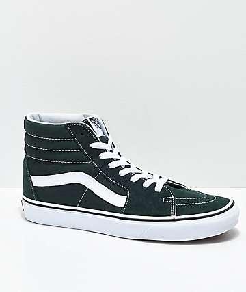 Vans Sk8-Hi Scarab zapatos de skate en verde